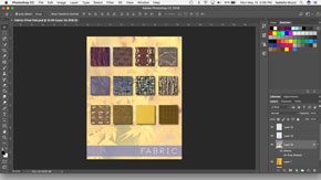 Creating a Fabric Board in Adobe Photoshop-#10