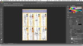 Creating a Design Development Board in Adobe Photoshop-#12