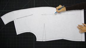 Drafting a Shawl Collar & Variations