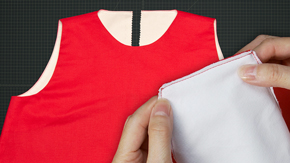 Sewing an All-in-One Facing – Shoulder Technique