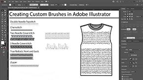 Creating Custom Brushes in Adobe Illustrator